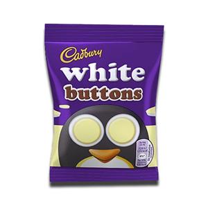 Cadbury White Buttons Chocolate Bag 25p 14.4g
