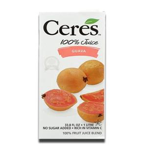 Ceres Guava 100% Fruit Juice 1L