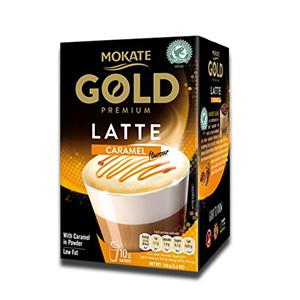 Mokate Gold Premium Latte Caramel 150g