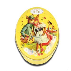 Heidel Ovos Chocolate Tin 32g