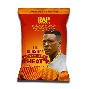 Rap Snacks Lil Boosie's Lousian Heat Chips 78g
