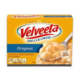 Velveeta Shells & Cheese 2% Milk Cheese 340g
