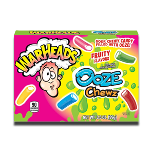 Warheads Ooze Chewz Sour Candy 99g