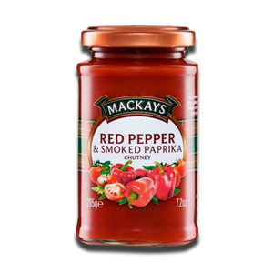 Mackays Red Pepper & Smoked Paprika Chutney 205g
