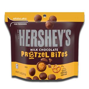Hershey's Milk Chocolate Pretzel Bites Salty Sweet 212g
