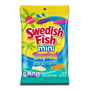Swedish Fish Mini Tropical 226g