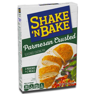 Kraft Shake 'n Bake Parmesan Crusted Seasoned Coating Mix 134g
