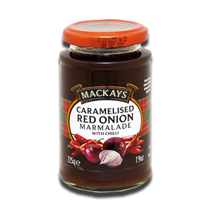 Mackays Caramelised Red Onion Marmalade with Chilli 225g