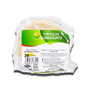 Guanajuato Tortilla de Milho 10cm 20Un 250g