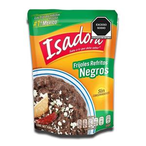 Isadora Frijoles Refritos Negros 430g