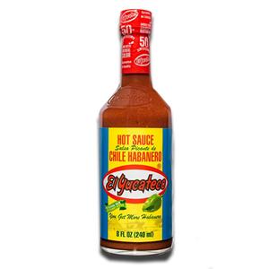 El Yucateco Chile Habanero Hot Red Sauce 240ml