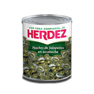 Herdez Chiles de Jalapeño en Rodajas 200g