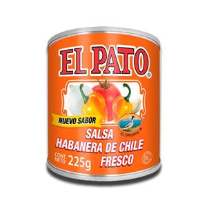 El Pato Salsa Habanero de Chile Fresco 225g