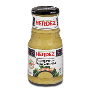 Herdez Roasted Poblano Salsa Cremosa 434g