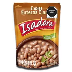 Isadora Frijoles Enteros Claros 454g