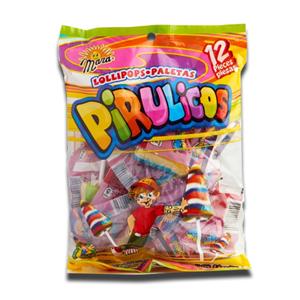 Dulce Mara Pirulicos 12 Lollipops 168g