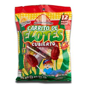 Dulce Mara 12 Carrito de Elotes 168g