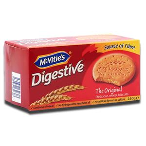 Mcvitie's Digestive Original Carton 250g
