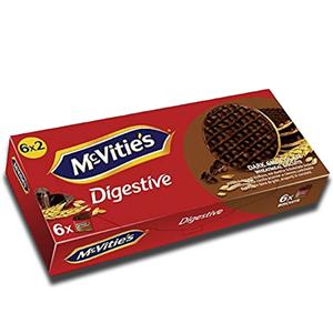 Mcvitie's Digestive Dark Chocolate To go 6 Pack 199.8g