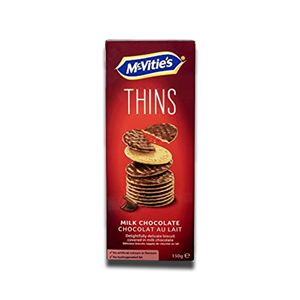 Mcvitie's Digestive Milk Chocolate Thins 150g