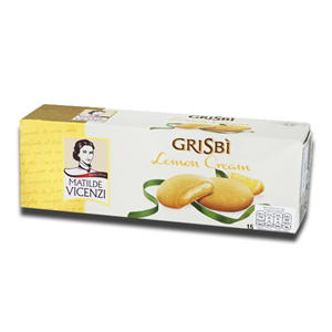 Grisbi Lemon Cream Biscuits 150g