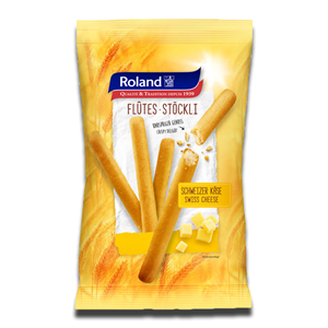 Roland Breadsticks Swiss Cheese 125g