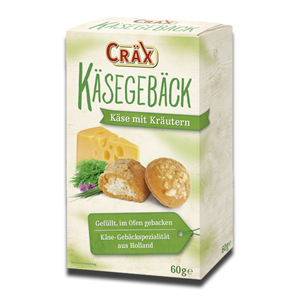 Crax Crackers Filled Cheese and Herbs Cream 60g