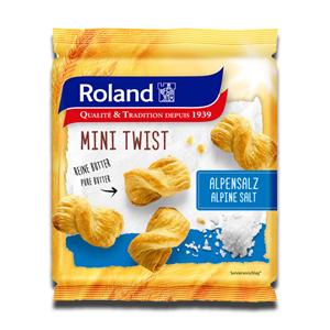 Roland Mini Twist Puff Pastry Alpine Salt 75g