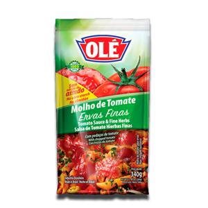 Olé Molho de Tomate Ervas Finas 340g
