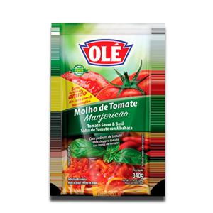 Olé Molho de Tomate Manjericão 340g