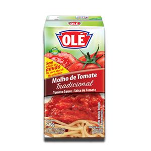 Olé Molho de Tomate Refogado 260g