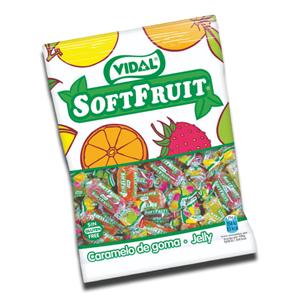 Vidal Gomas Soft Fruit 100g