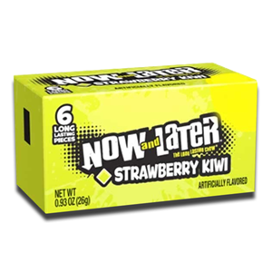 Now and Later Strawberry Kiwi 26g
