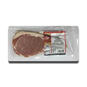 Tindale & Stanton Unsmoked back Bacon 200g