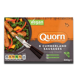 Quorn 6 Cumberland Sausages 300g