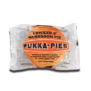 Pukka-Pies Chicken and Mushroom Pie 226g