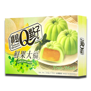 Taiwan Dessert Mochi Hami Melon 210g
