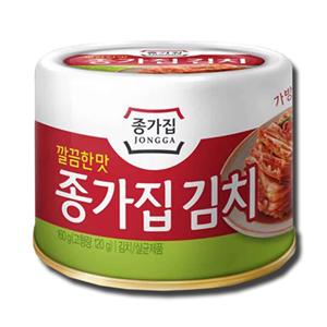 Jongga Korean Natural Spicy Cabbage Kimchi 120g