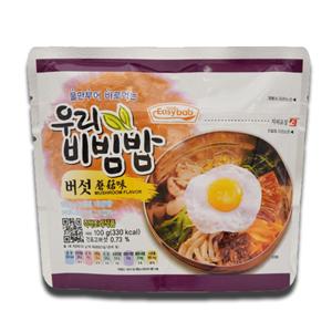 Easybab Woori Bibimbap Instant Rice Mushroom 100g