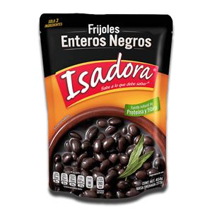 Isadora Frijoles Enteros Negros 454g