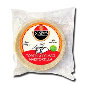 Xatzé Tortilla de Maiz 14cm 500g
