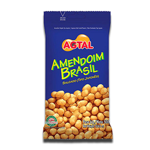 AGTAL Amendoim Brasil Salgado tipo Japonês 400g