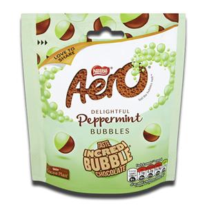 Nestlé Aero Bubbles Peppermint Chocolate Sharing Bag 92g