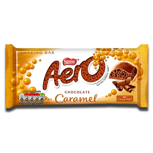 Nestlé Aero Caramel Sharing Bar 90g
