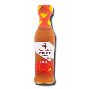 Nandos Hot Peri Peri Sauce 125ml