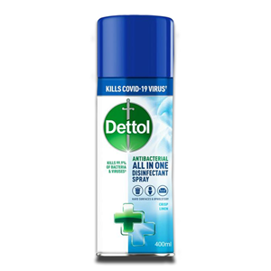 Dettol Antibacterial All In On Desinfectant Spray 400ml