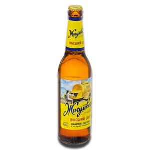 Zhigulevskoe Light Premium Beer 4% 450ml