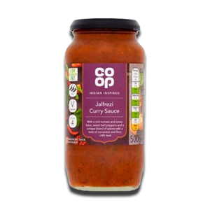 Coop Jalfrezi Curry Sauce 500g