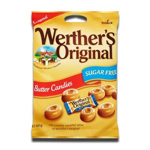 Werther's Original Nutter Candies Sugar Free 80g