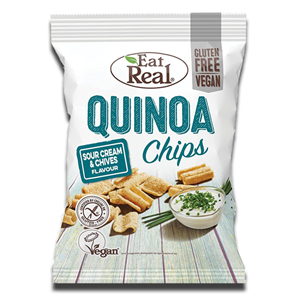 Eat real Quinoa Chips Sour Cream & Chives 80g
